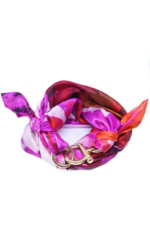 Orange and pink silk scarf  Grakko Fashion | -709280361 | FOULARDVMULTIORANGE