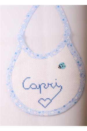 Handmade Baby bib Il Filo di Arianna | 20000040 | CAPRIBIBSAZZURRO