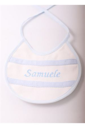 Customizable bib for little girl and little boy Il Filo di Arianna | 20000040 | NAMEBIBSAZZURRO