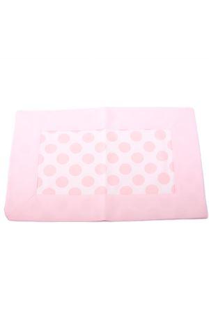 Pink polka dot cotton tablecloth Il Filo di Arianna | 20000026 | TOV ROS PALLROSA