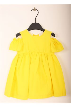 Yellow elegant dress for new born & baby girl  Jo Milano | 5032262 | JO373GIALLO