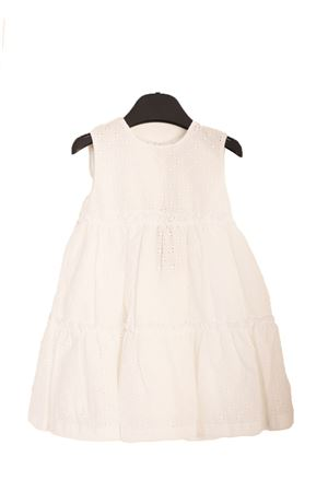 San Gallo lace white dress for baby girl  Jo Milano | 5032262 | JO375SANGALLO