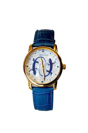 Light blue Lizards Capri watch L