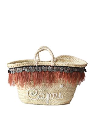 Capri Style straw bag La Bottega delle Idee | 31 | BAG MONETEMARRONE