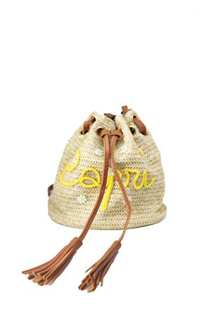 Capri style bag for baby girl  La Bottega delle Idee | 31 | BORSA ZAINOGIALLO