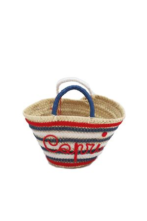 Capri straw bag for baby girl  La Bottega delle Idee | 31 | FAROBAGBROSSO