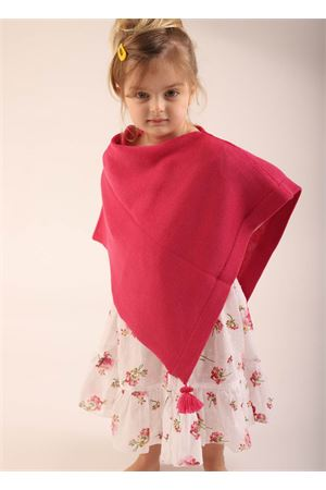 Fuchsia cape for new born  La Bottega delle Idee | 52 | PBWOOLNFUCSIA