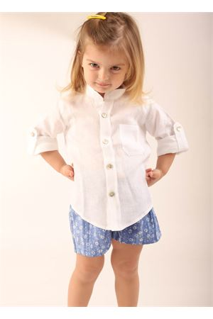 White linen shirt for baby girl and baby boy  La Bottega delle Idee | 6 | SARIANABIANCA