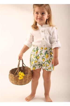Short with lemons for baby girl  La Bottega delle Idee | 30 | SHORTBIMBALIMONI