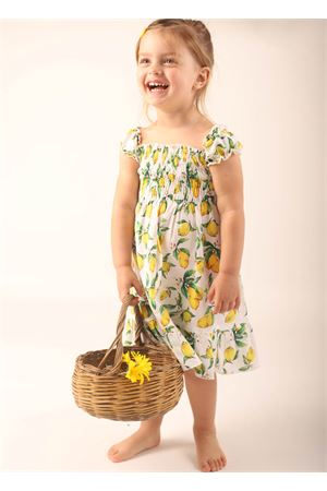 Dress for baby with lemon pattern La Bottega delle Idee | 5032262 | VESTITOCAPRILIMONI