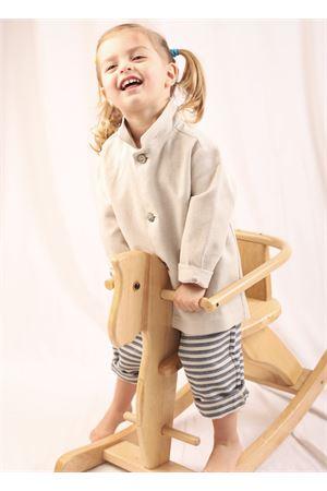 Unisex jbeige cotton jacket La Bottega di giorgia | 3 | BDG13BBEIGE