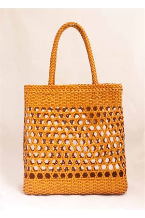 Yellow woven leather bag Laboratorio Capri | 31 | 082OCRA