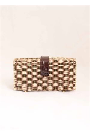 Clutch in midollino Laboratorio Capri | 31 | 171TORTORABROWN