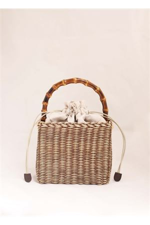 Brown wicker basket Laboratorio Capri | 31 | 174TORTORA
