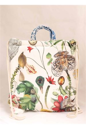 Backpack bag with flowers pattern  Laboratorio Capri | 31 | FORTE19MULTICOLOR