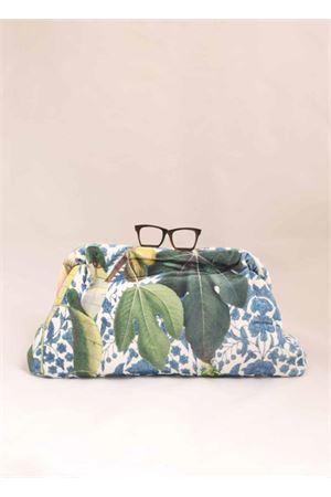 velvet floral pattern clutch  Laboratorio Capri | 31 | GLASSESCF19LMULTICOLORFIORI