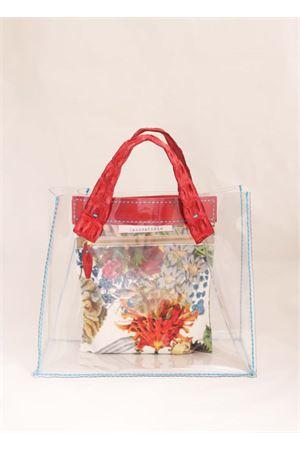 Pvc bag with red crocodile handles Laboratorio Capri | 31 | GRETAROSSOCOCC