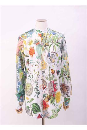 Camicia a fiori con collo alla coreana Laboratorio Capri | 6 | ILYASAUTOCTONE