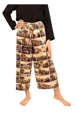 Silk trousers with ancient postcards of Capri Laboratorio Capri | 9 | PILACCIOMULTICARTOLINE