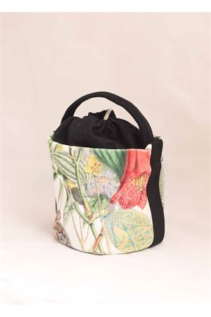 Bucket bag with floral pattern  Laboratorio Capri | 31 | PORTO19LMULTICOLOR