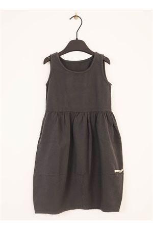 Vestito smanicato grigio da ragazza Little creative factory | 5032262 | LCF63BGRIGIO