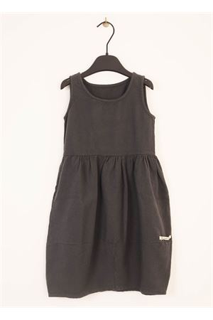 Grey long dress for baby girl  Little creative factory | 5032262 | LCF63GRIGIO
