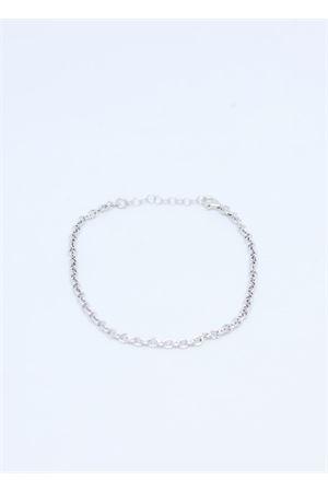 Bracciale regolabile in argento 925 con catene Manè Capri | 36 | BRACCIALE CATENAARGENTO