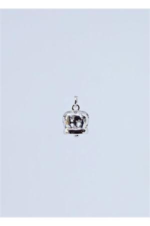 Silver capri bell charm with angels Manè Capri | 5032249 | MANE ANGELOARGENTO
