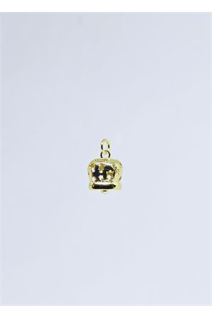 Golden silver Capri bell charm with angels Manè Capri | 20000055 | MANE ANGELOORO