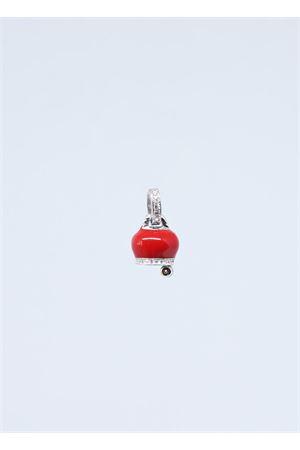 Campanella di Capri in argento smaltato rosso Manè Capri | 20000055 | MANEBELLELROSSO