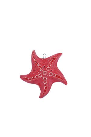 Starfish red ceramic tile to hang  Manè Capri | 20000004 | MATTONELLASTELLASTELLAMARINA