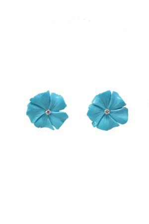 Diamonds and white gold flower earrings Mediterranee Passioni | 48 | AL182TURCHESE