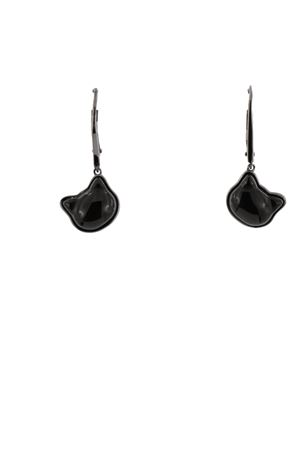 Black cats earrings  Mediterranee Passioni | 48 | WENDYAGATANERAL