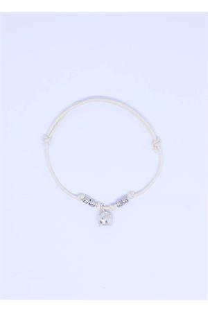 Bracciale bianco con campanella di capri Pierino Jewels | 36 | 3020BIANCO