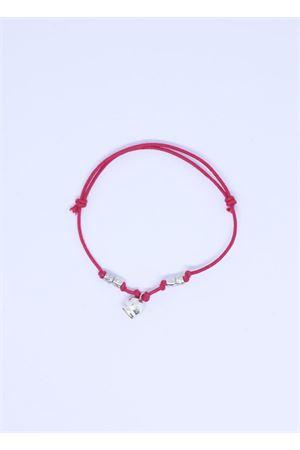 Bracciale rosa fragola con Campanella di Capri Pierino Jewels | 36 | 3020FUCSIA