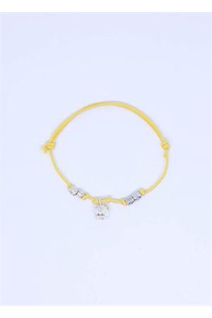 Bracciale giallo con Campanella di Capri Pierino Jewels | 36 | 3020GIALLO