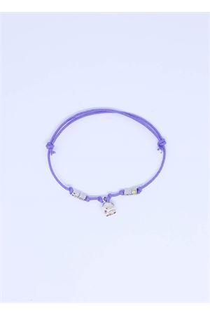Bracciale lilla con Campanella di Capri Pierino Jewels | 36 | 3020LILLA