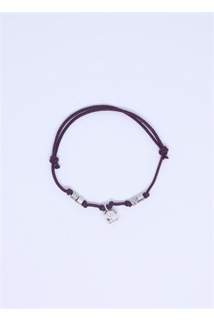 Brown bracelet with Capri bell charm  Pierino Jewels | 36 | 3020MARRONE