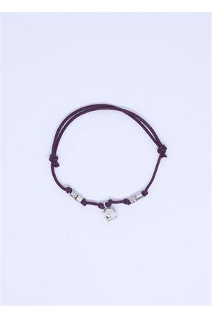 Brown bracelet with Capri bell charm  Pierino Jewels | 36 | 3020MARRONE