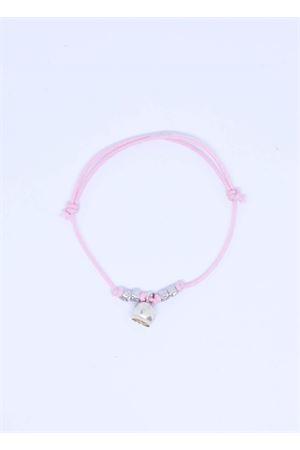 Bracciale rosa con Campanella di Capri Pierino Jewels | 36 | 3020ROSA