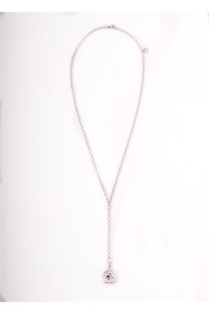 Long Necklace with Capri bell charms Pierino Jewels | 35 | 4001ARGENTO