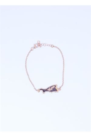 Rosy silver bracelet with Capri island  Pierino Jewels | 36 | 4006ROSA