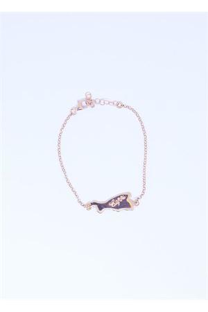 Bracciale in argento rosato con Isola di Capri Pierino Jewels | 36 | 4006ROSA