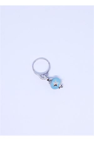 Light blue capri bell charm ring  Pierino Jewels | 5032250 | ANELLO1CAMPAZZURRO