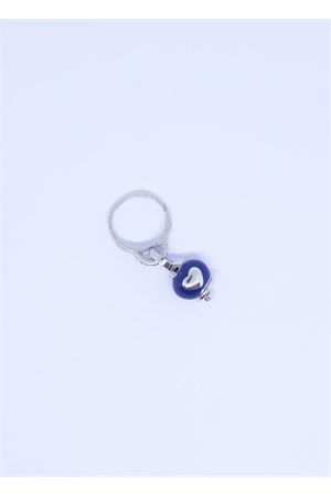 Blue Capri bell charm ring  Pierino Jewels | 5032250 | ANELLO1CAMPBLU