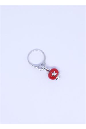 Red Capri bell charm ring  Pierino Jewels | 5032250 | ANELLO1CAMPROSSO