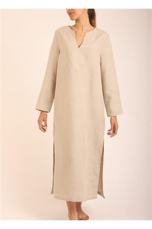 Beige long tunic for woman  Scacco Matto | 5032233 | TUNICALUNGABEIGE