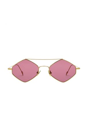 Spektre Rigaut gold and burgundy sunglasses Spektre | 53 | RIGAUTFUCSIA