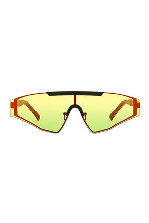 Black and yellow Vincent Spektre sunglasses Spektre | 53 | VINCENTYELLOW