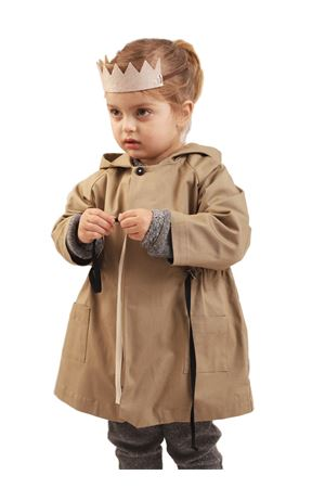 baby gilr trench coat  Three House Anja Schwerbrock | 3 | TH51BEIGE